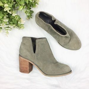 Urban Outfitters Green Ankle Boots SZ 8